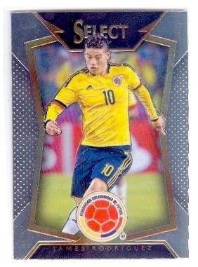 James Rodriguez trading card 2015 Prizm Chrome #77