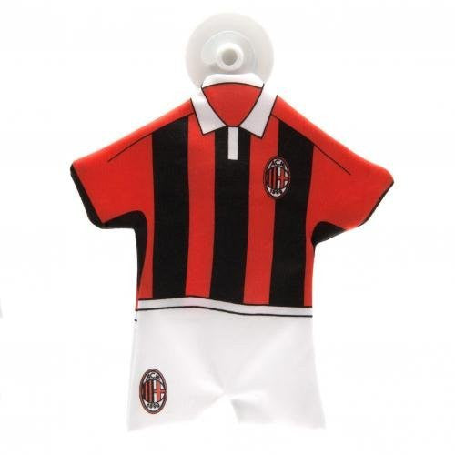 A.C. Milan Mini Kit Car with Rubber Suction Pad
