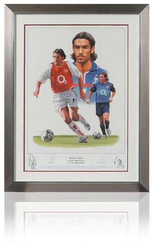 Large Robert Pires hand signed fine art print (LOT697)