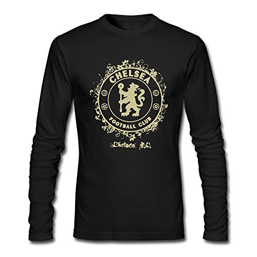 Chelsea FC Cotton Round Collar Long Sleeve T Shirt