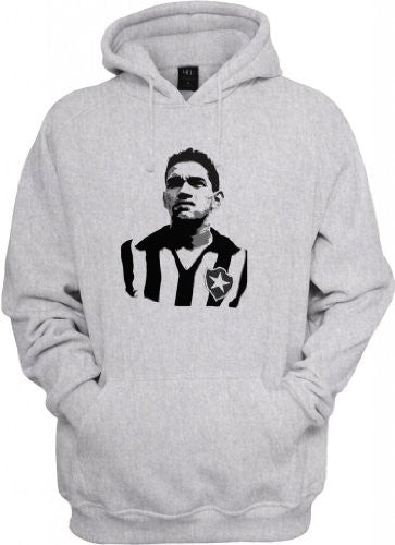 Soccer Legends: Garrincha Hooded Sweatshirt