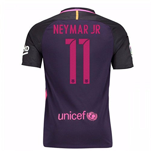 2016-17 Barcelona With Sponsor Away Shirt (Neymar JR 11)