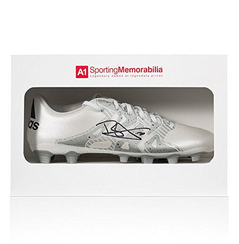 Dele Alli Signed Football Boot White Adidas X 15.4 - Gift Box Autograph