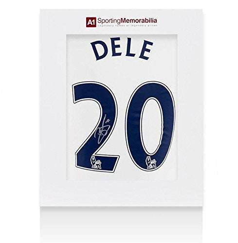 Dele Alli Signed Tottenham Hotspur Shirt 2016-2017 Number 20 - Gift Box