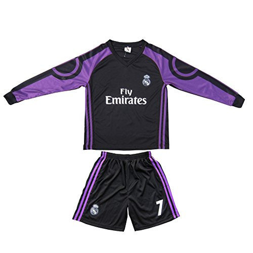 2015/2016 Real Madrid Ronaldo #7 Away Kids Jersey