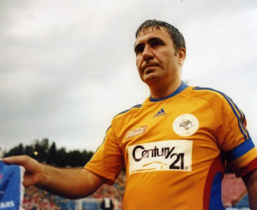 Gheorghe Hagi Action Photo