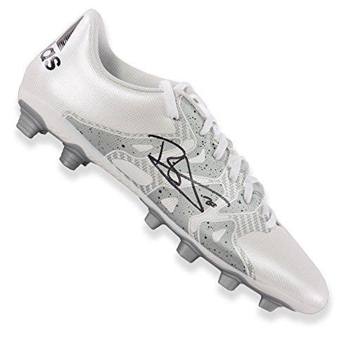 Dele Alli Signed Football Boot - White Adidas X 15.4 Autograph Cleat - Autographed Soccer Cleats
