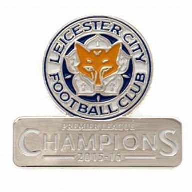 Leicester City 2016 Champions Keyring