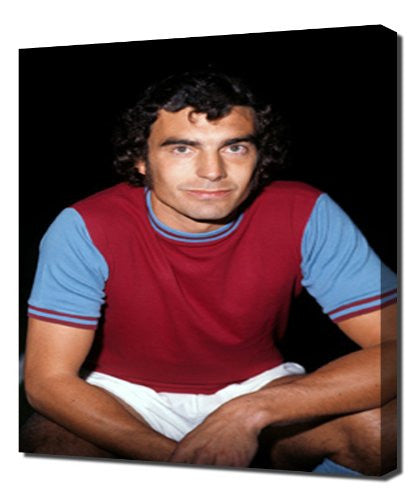 West Ham Trevor Brooking - Canvas Art Print