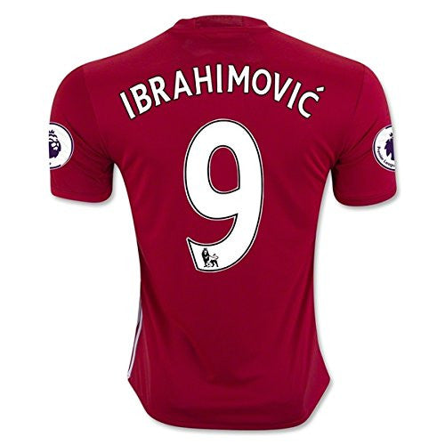 IBRAHIMOVIC 9 Manchester United 16/17 Jersey (Home Red)