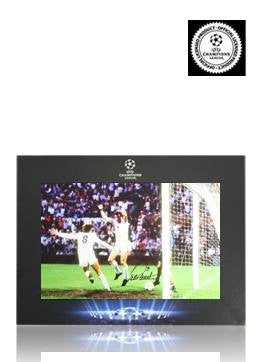Official UEFA Champions League Peter Withe Signed Aston Villa Photo In Deluxe Packaging: 1982 Final - Autographed Photos