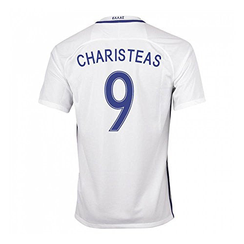 2016-17 Greece Home Shirt (Charisteas 9)