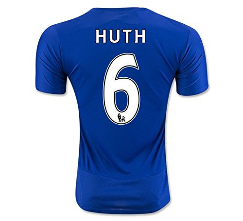 Leicester City F.C. Home Club Jersey '#6 Huth'