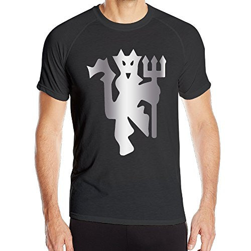 Manchester United Platinum Style Men's Black T-shirt