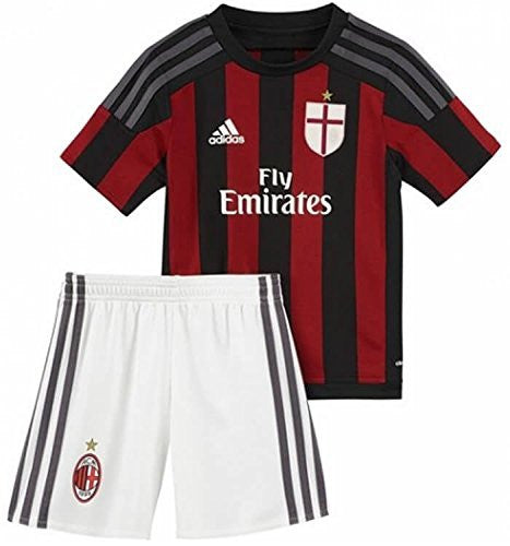 AC Milan Kids (Boys Youth) Home Kit 2015 - 2016