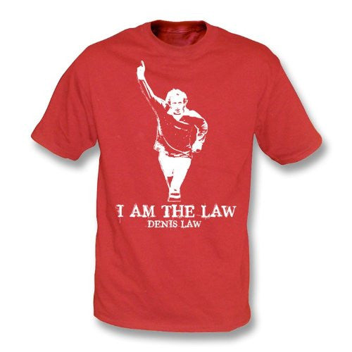 Denis Law - I am the Law T-Shirt