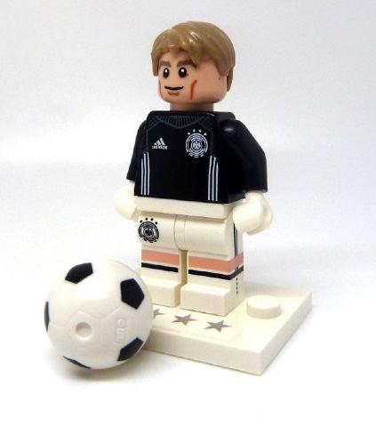 "Lego 71014 - Minifigure ""Goalkeeper Manuel Neuer - No.1 "" from DFB - The German Soccer Team (open bag)"