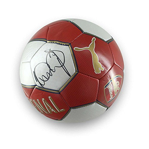 Ian Wright Signed Arsenal Soccer Ball