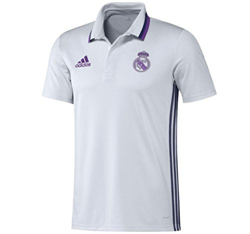 Real Madrid Adidas Polo Shirt (White)