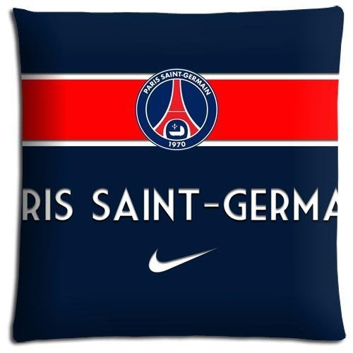 PSG Throw Pillow Cases