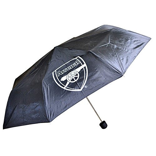 Arsenal FC Umbrella (One Size) (Black)