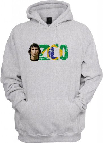 Soccer Legends: Zico Hooded Sweatshirt