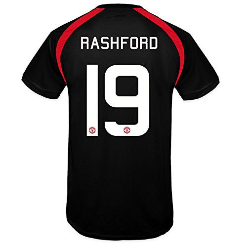 Manchester United FC 'Rashford 19' Black Training Kit