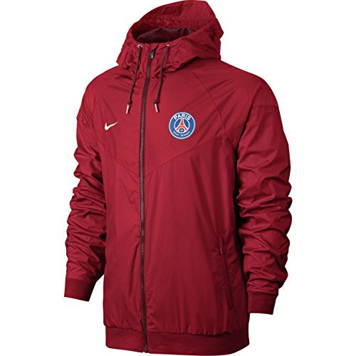 2016-2017 PSG Nike Authentic Windrunner Jacket (Red)