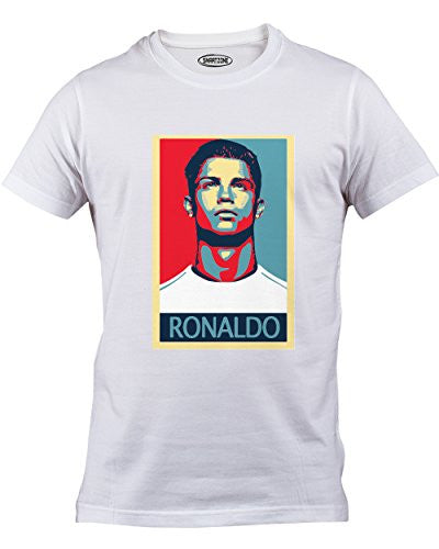 Real Madrid & Portugal Cristiano Ronaldo Graphic T-Shirt