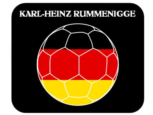 Karl-Heinz Rummenigge (Germany) Soccer Mouse Pad