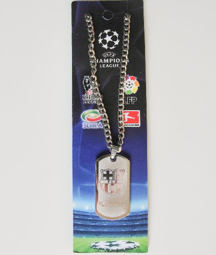 FC Barcelona Metal Necklace