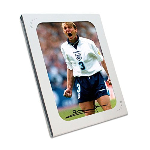 Stuart Pearce Signed England Euro 96 Photograph: Redemption In Gift Box