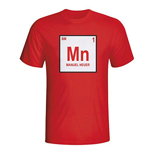 Manuel Neuer Bayern Munich Periodic Table T-shirt