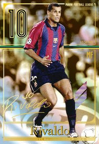 Panini Football League/ PFL05-165/ Fc Barcelona/ Legend/ Rivaldo