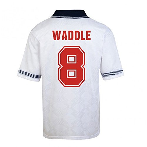 England World Cup 1990 Home Shirt (Waddle 8)