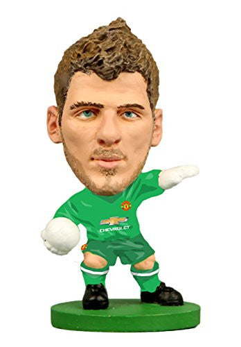 Man Utd David De Gea Home Kit (2015 Version) Toy Football Figures