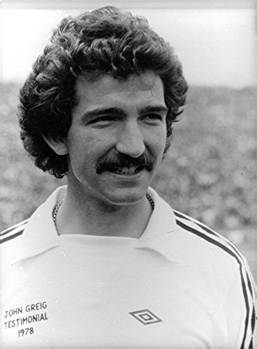 Vintage photo of Portrait of Graeme Souness .
