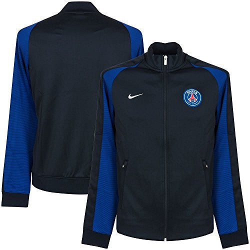 2016-2017 PSG Nike Authentic N98 Track Jacket (Navy)