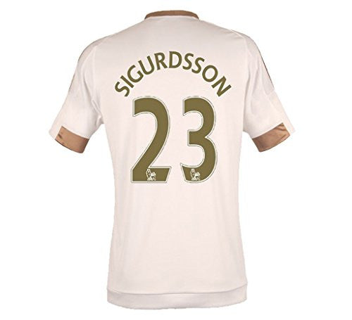2015-2016 Home Match #23 Sigurdsson Football Jersey