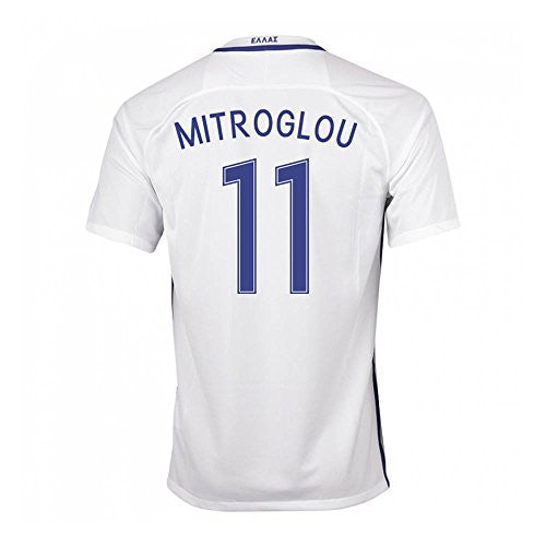 2016-17 Greece Home Shirt (Mitroglou 11)