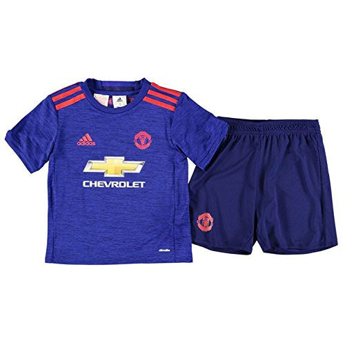 Manchester United Baby Away Football Kit 2016-17