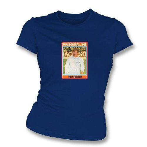 Billy Bremner 1969 Leeds United Navy Women's T-Shirt