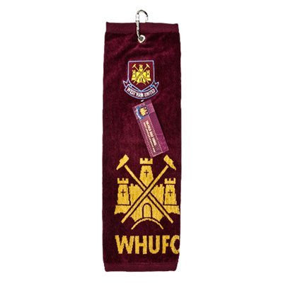 West Ham United F.C. Golf Towel (Tri-Fold)