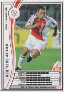 Wesley Sneijder / WCCF 05-06 / Ajax / White / 155 /
