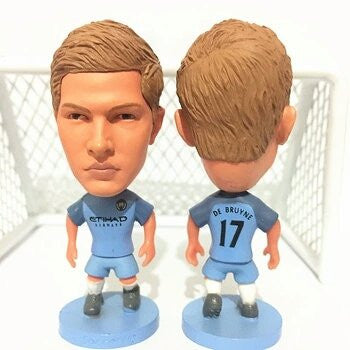Manchester City Toy Figure Kevin De Bruyne #17