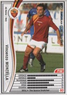 WCCF 05-06 / AS Roma / White / 254 / Vincenzo Montella