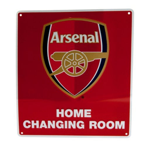 ARSENAL FC Metal Changing Room Sign