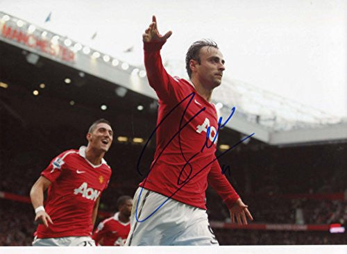 Dimitar Berbatov MANU autograph, In-Person signed photo