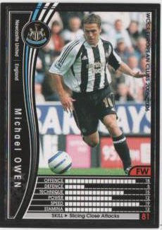 Michael Owen / WCCF 05-06 / Newcastle United / Black / 079 /