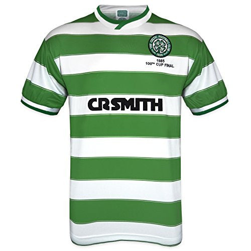 Celtic FC 1985 Cup Final Retro Home Kit